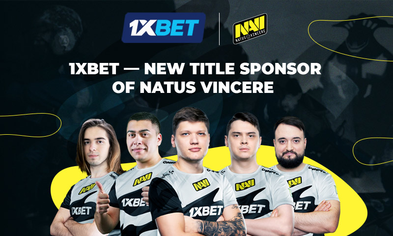 1xBet and eSports legends Natus Vincere signs partnership