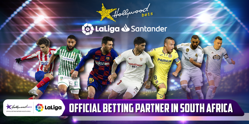 Hollywoodbets has been named as LaLiga's official Betting Partner